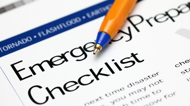 Emergency-Prepare-Checklist