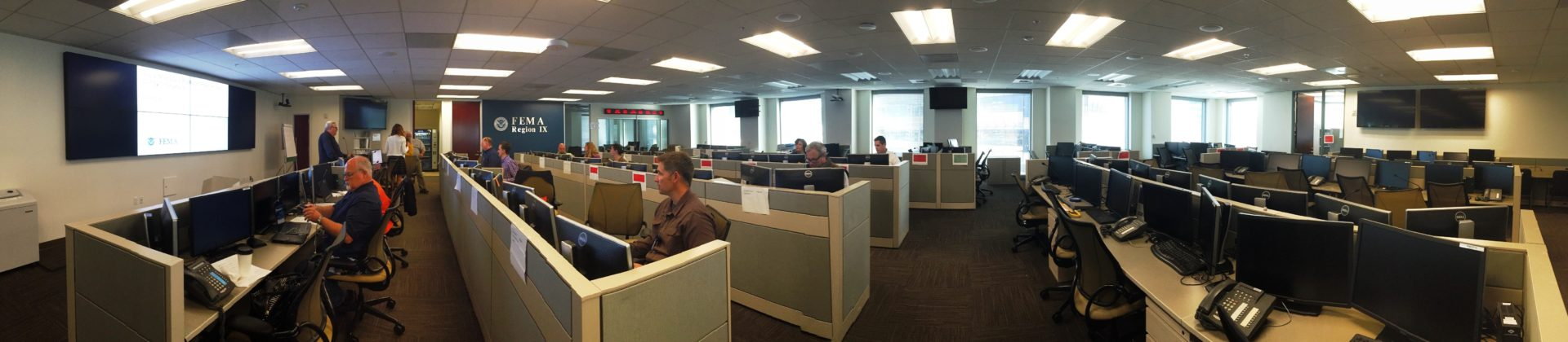 FEMA Disaster Coordination Room