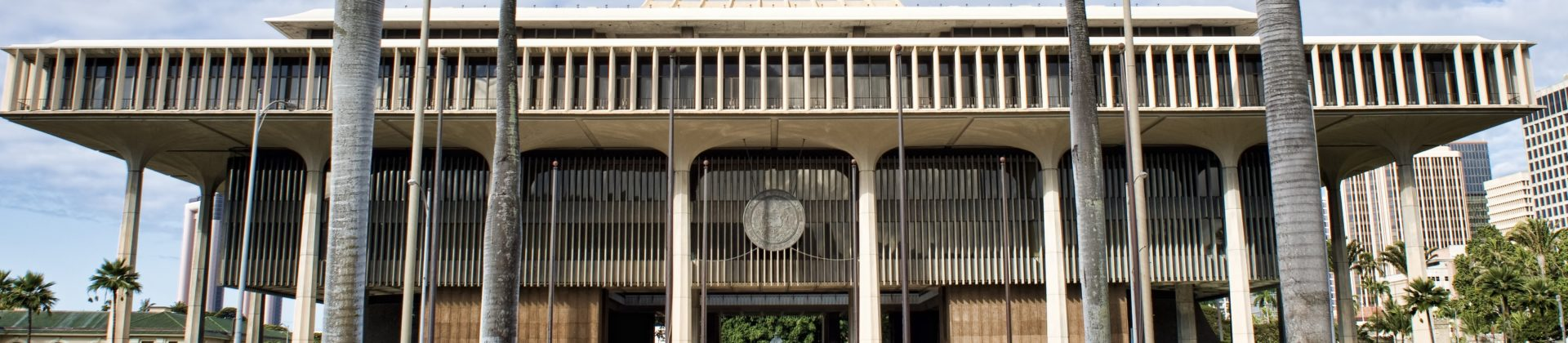 Hawaii State Capital Building.